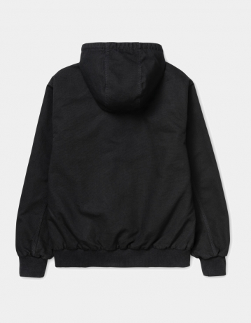 Carhartt Wip Active Jacket Black Rinsed. - Product Photo 2