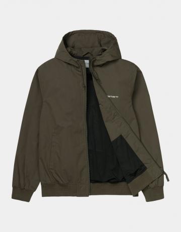 Carhartt Wip Marsh Jacket Cypress / White. - Product Photo 2