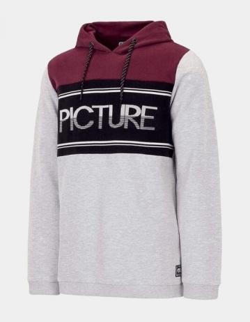 Picture Organic Clothing Hampio Hoody Grey Melange - Product Photo 1