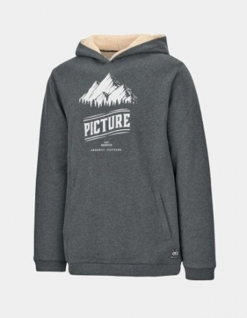 Picture Organic Clothing Hooper Hoody Anthracite - Product Photo 1