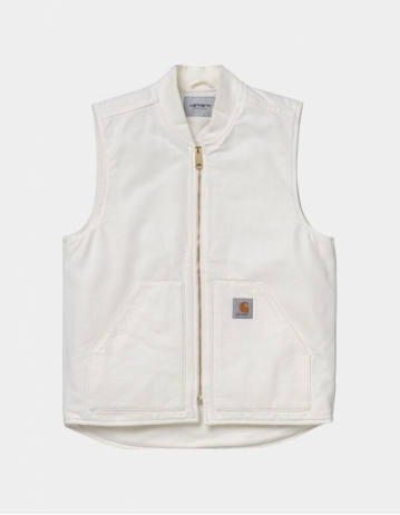 Carhartt Wip Classic Vest Wax Rinsed. - Product Photo 1