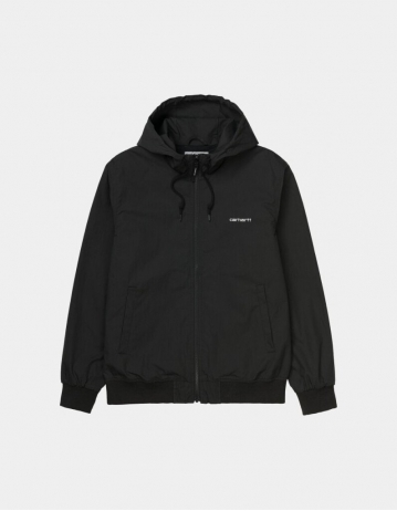 Carhartt Wip Marsh Jacket Black / White. - Product Photo 1