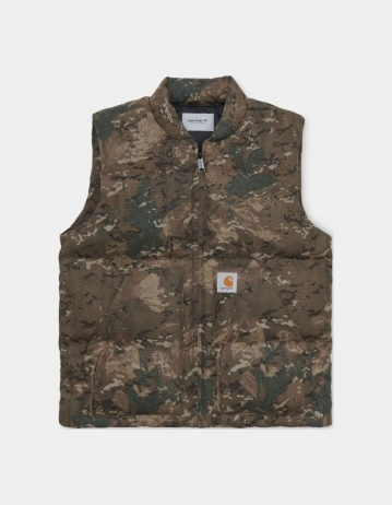 Carhartt Wip Brooke Vest Camo Combi. - Product Photo 1