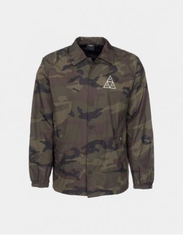 Huf Essentials Tt Coaches Jacket - Camo. - Product Photo 1