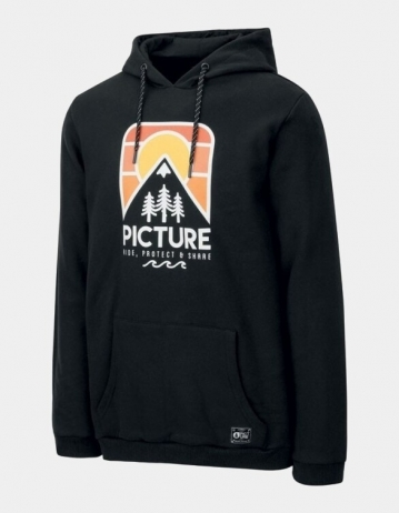 Picture Organic Clothing Ridery Hoody Black - Product Photo 1