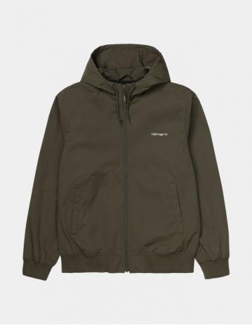 Carhartt Wip Marsh Jacket Cypress / White. - Product Photo 1