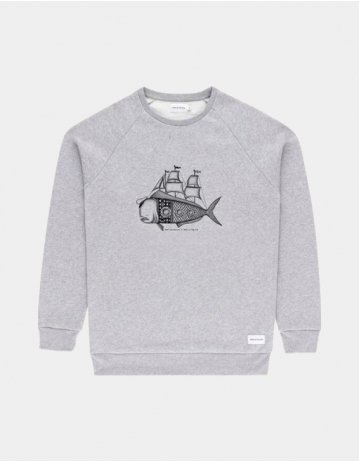 Bask In The Sun Sweat Dorado Grey - Product Photo 1