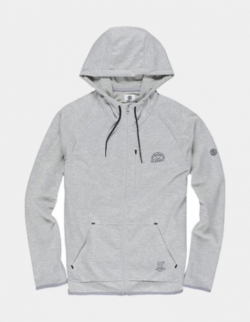Element Relay Zip Hoodie Oatmeal - Product Photo 1