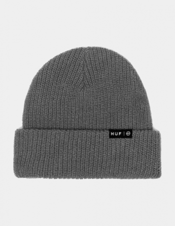 Huf Essentials Usual Beanie - Grey Heather. - Product Photo 1