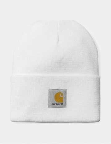 Carhartt Acrylic Watch Hat – White - Product Photo 1
