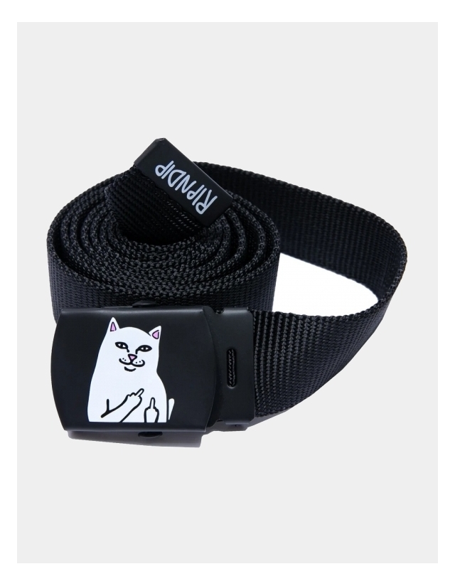 Ripndip Lord Nermal Web Belt (Black) - Belt  - Cover Photo 1