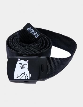 RIPNDIP Lord Nermal Web Belt (Black) - Belt - Miniature Photo 1