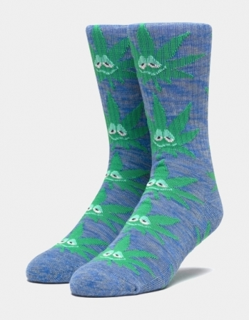 HUF GREEN BUDDY SOCK -...