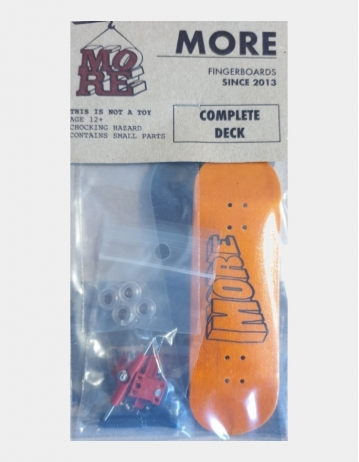 More Fingerboard 3 Orange - Product Photo 1