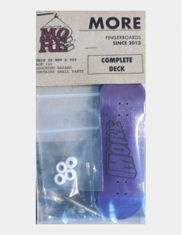 More Fingerboard 3 Purple - Product Photo 1