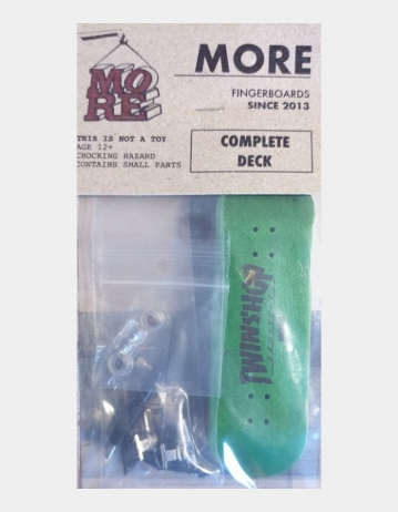 Fingerboard More X Twinshop - Green - Product Photo 1