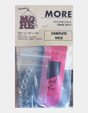 More Fingerboard 1 Pink - Product Photo 1
