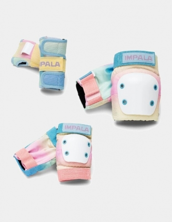 Impala Rollerskates ADULT PROTECTIVE PACK - Pastel Fade - 3 Pack - Miniature Photo 1
