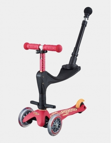 Mini Micro Deluxe 3In1 Ruby Rose Push Bar. - Product Photo 1