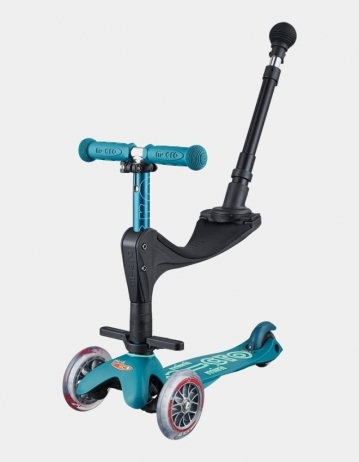 Mini Micro Deluxe 3In1 Ice Blue Push Bar. - Product Photo 1
