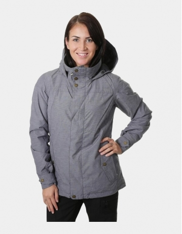 Burton Jet Set Jacket Woman - Fleecked Chambray - Product Photo 1
