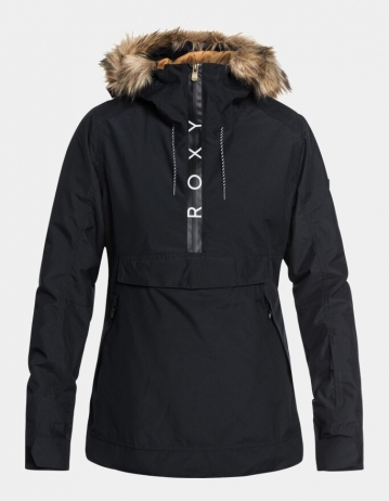 Roxy Shelter Woman Jacket - Black - Product Photo 1