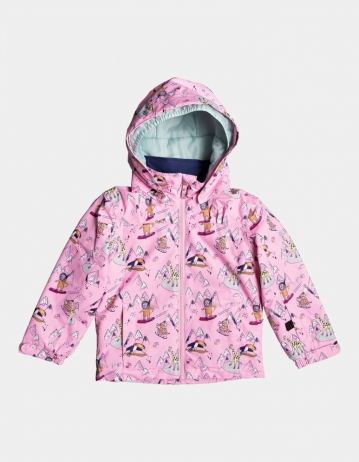 Roxy Mini Jetty Girl Jacket - Prism Pink - Product Photo 1
