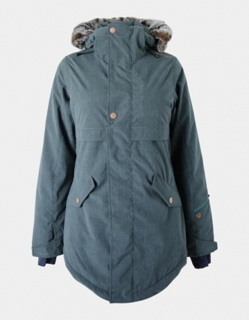 Brunotti Jupitera Jacket Girl - Woods Green - Product Photo 1
