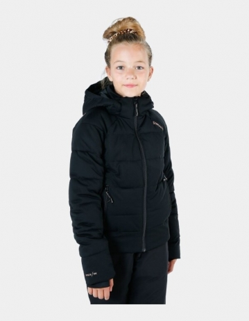 Brunotti Firecrown Girl Snowjacket - Black - Product Photo 1