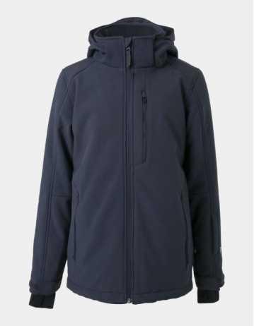 Brunotti Marsala Jr Boys Softshell Jacket - Space Blue - Product Photo 1