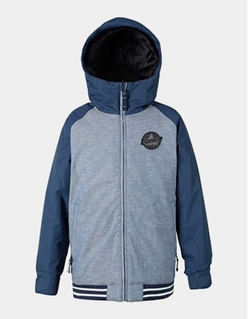 Burton Gameday Boy Jacket - Dencha / Mood Indigo - Product Photo 1