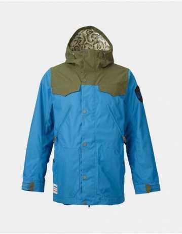 Burton Folsom Jacket - Glacier Blue - Product Photo 1