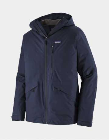 Patagonia Insulated Snowshot Jacket Classic Navy - Product Photo 1