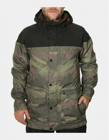 Burton Frontier Jacket - Camo - Product Photo 1