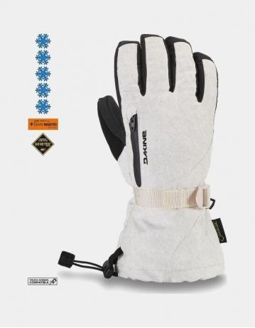Dakine Leather Sequoia Glove - White - Product Photo 1