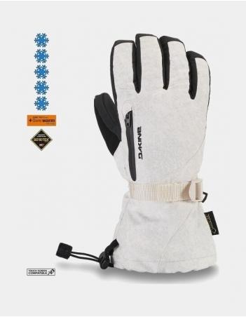 Dakine Leather Sequoia Glove - White - Gants Ski & Snowboard - Miniature Photo 1
