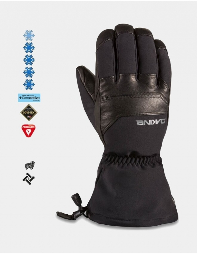 Dakine Excursion Glove - Black - Gants Ski & Snowboard  - Cover Photo 1