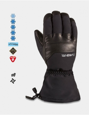 Dakine Excursion Glove - Black - Gants Ski & Snowboard - Miniature Photo 1