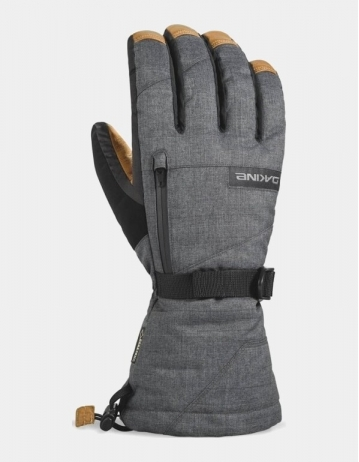 Dakine Leather Titan Gore-Tex® Gloves – Carbon - Product Photo 1