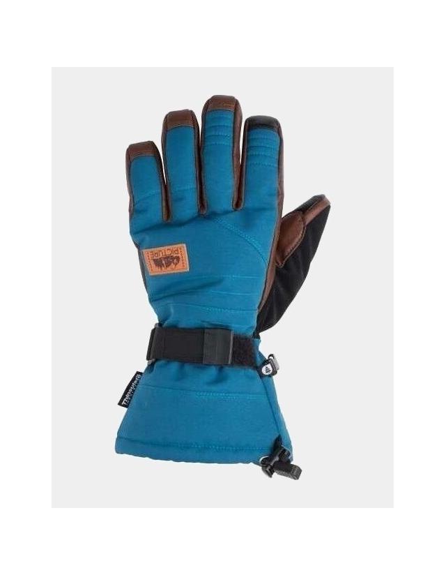 Picture Organic Clothing Gloves Mackay - Dark Blue - Gants Ski & Snowboard  - Cover Photo 1