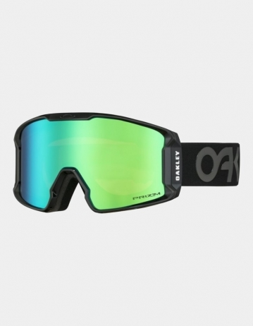 Oakley Line Miner™ Xm Snow Goggle - Factory Pilot Blackout (Prizm Jade Iridium) - Product Photo 1