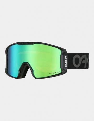 Oakley Line Miner™ Xm Snow Goggle - Factory Pilot Blackout (Prizm Jade Iridium) - Product Photo 1