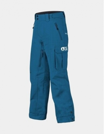 Picture Organic Clothing August Pant Boy - Petrol Bluee - Product Photo 1