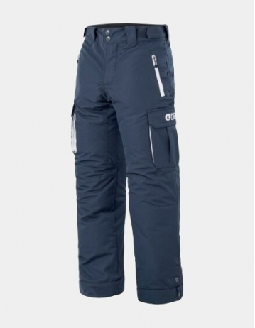 Picture Organic Clothing August Pant Boy - Dark Blue - Product Photo 1