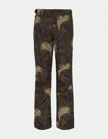 O'neill Glamour Pant Woman - Green Aop Black - Product Photo 1