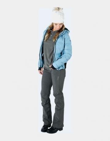 Brunotti Silverlake Woman Softshell Pants - Dark Grey Melee - Product Photo 1