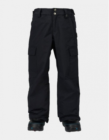 Burton Exile Cargo Pant Boy - True Black - Product Photo 1