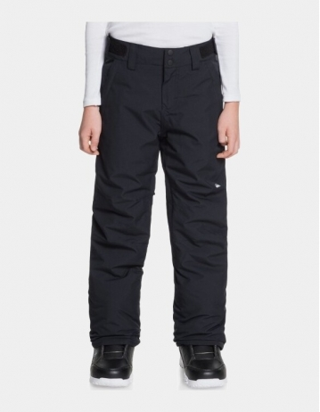 Quiksilver Estate Pant Boy - True Black - Product Photo 1