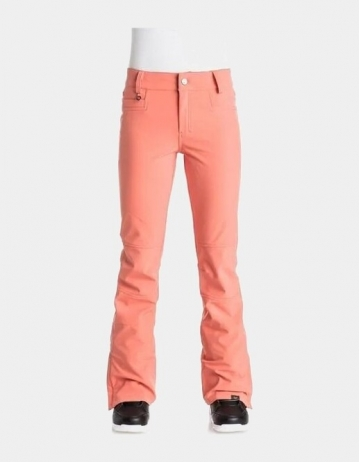 Roxy Creek Softshell Pant - Coral - Product Photo 1