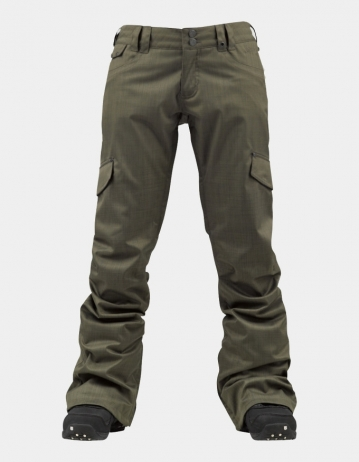 Burton Twc Boom Sticks Pant - Kaki - Product Photo 1
